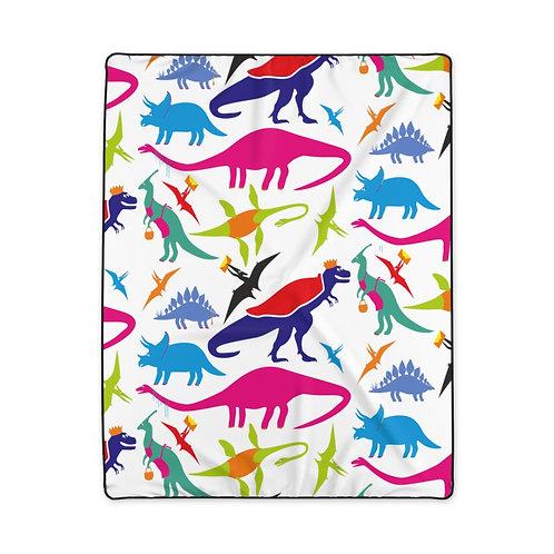 Dino Polyester Blanket