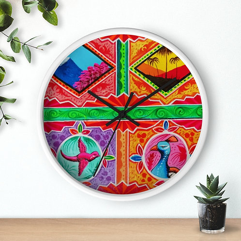 Sunset - Wall clock