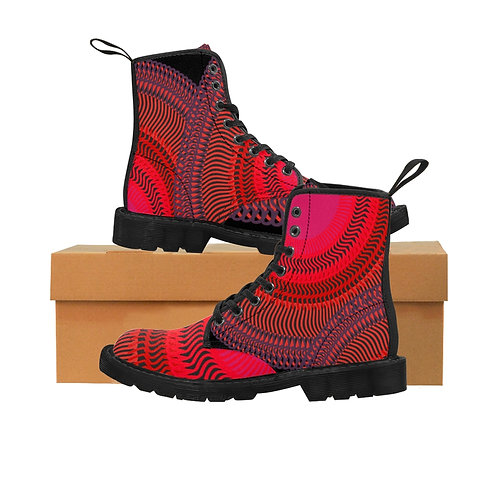 Eclipse - Women's Canvas Boots