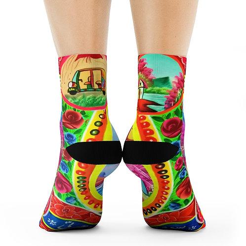 Riksha - Crew Socks