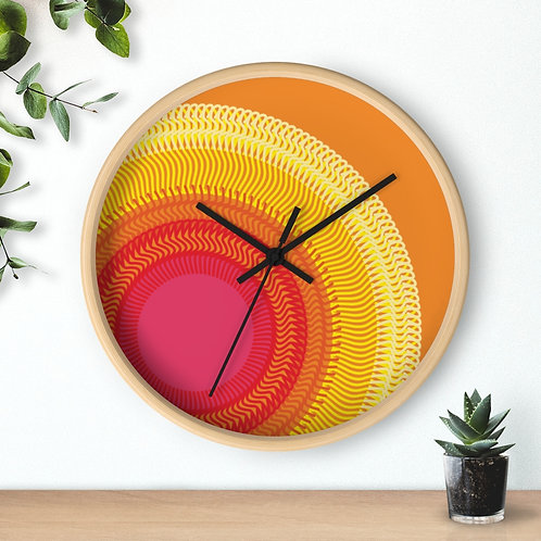Planet Sun - Wall clock