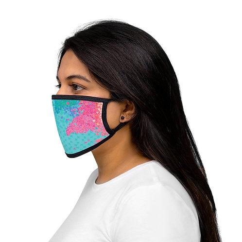 Secret Garden - Mixed-Fabric Face Mask