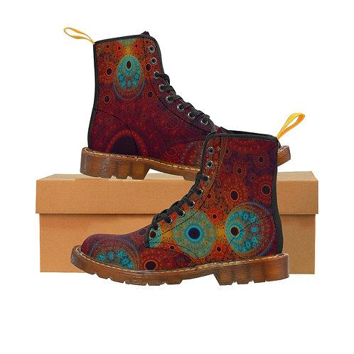 Bear Men's Canvas Boots, Brown Sole