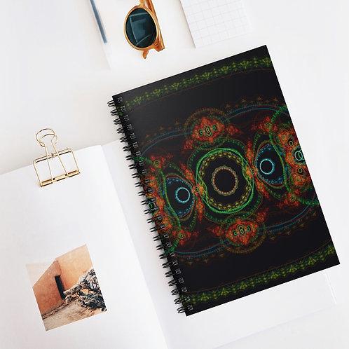 Taiga - Spiral Notebook - Ruled Line