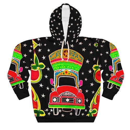 Star Driver - AOP Unisex Pullover Hoodie