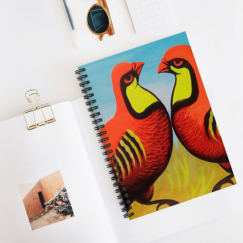 Friends - Spiral Notebook - Ruled Line