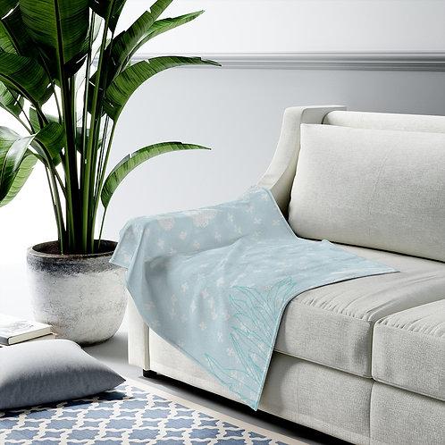 Misty Garden - Velveteen Plush Blanket
