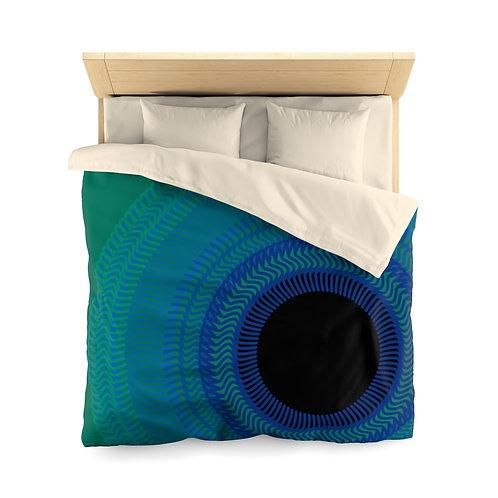 Blue Moon - Microfiber Duvet Cover