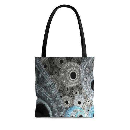 Cliff - Fractal Design AOP Tote Bag