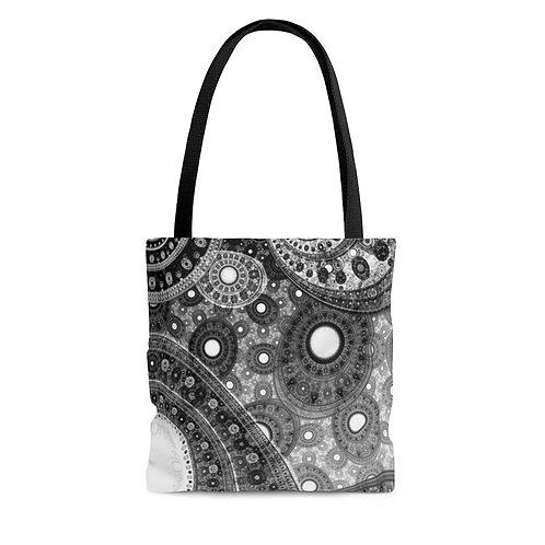 Fog - Fractal Design AOP Tote Bag