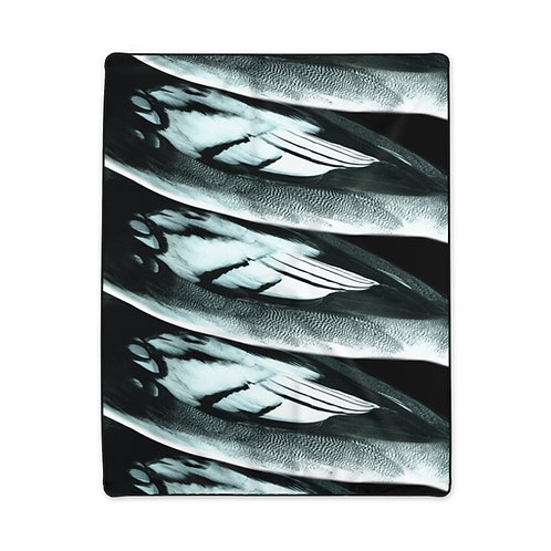 Feathers - Polyester Blanket