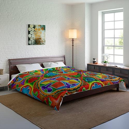 Orange Propeller - Comforter