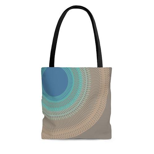 Misty Moon - AOP Tote Bag