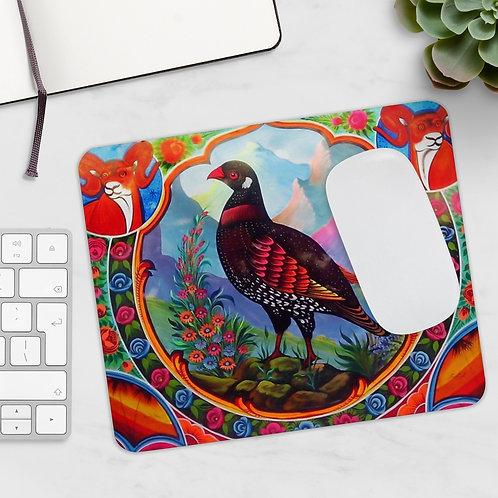 Black Partridge - Mousepad
