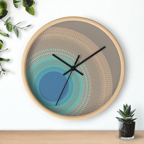Misty Moon - Wall clock
