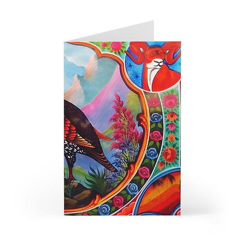 Black Partridge Greeting Cards (7 pcs)