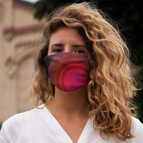 Eclipse - Snug-Fit Polyester Face Mask