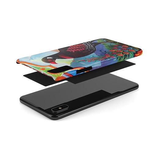 Black Partridge - Case Mate Slim Phone Cases