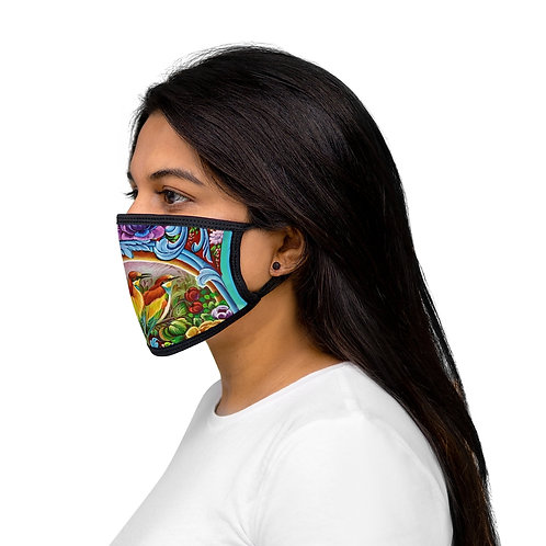 Paradise - Mixed-Fabric Face Mask