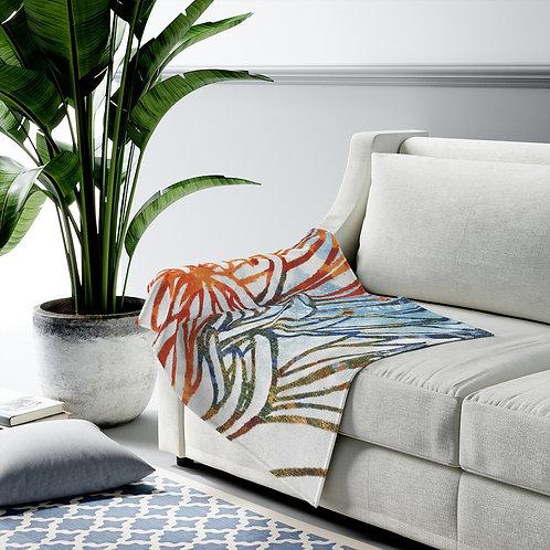 Petals - Velveteen Plush Blanket