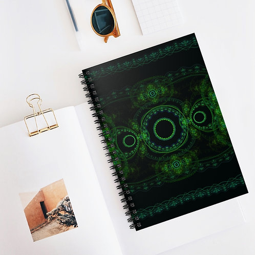 Forest - Spiral Notebook - Ruled Line