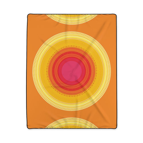 Planet Sun - Polyester Blanket