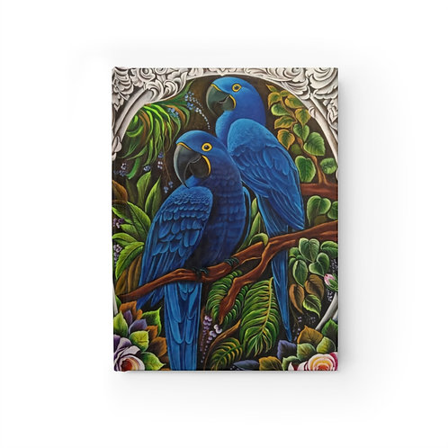 Blue Macaw - Journal - Ruled Line
