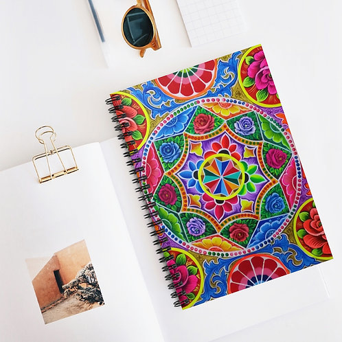 Carousel - Spiral Notebook - Ruled Line