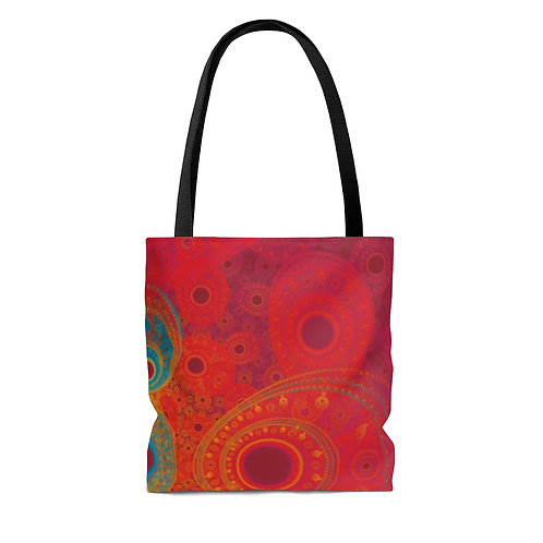 Rainbow - Fractal Design AOP Tote Bag