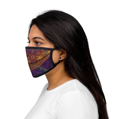 Aurora - Mixed-Fabric Face Mask