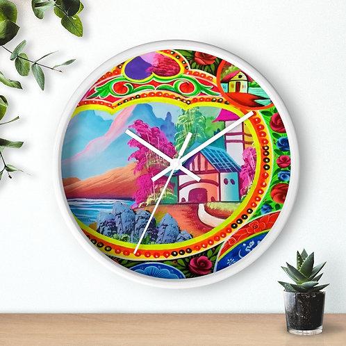 Sweet Home - Wall clock