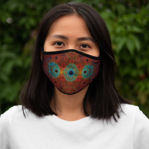 Bear - Fitted Polyester Face Mask