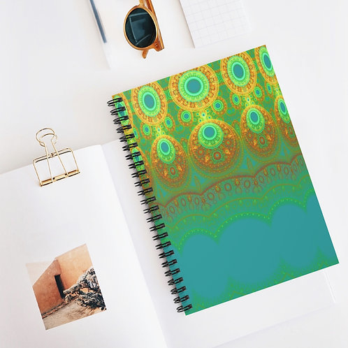 Cloudberry - Spiral Notebook - Ruled Line