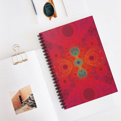 Rainbow - Spiral Notebook - Ruled Line