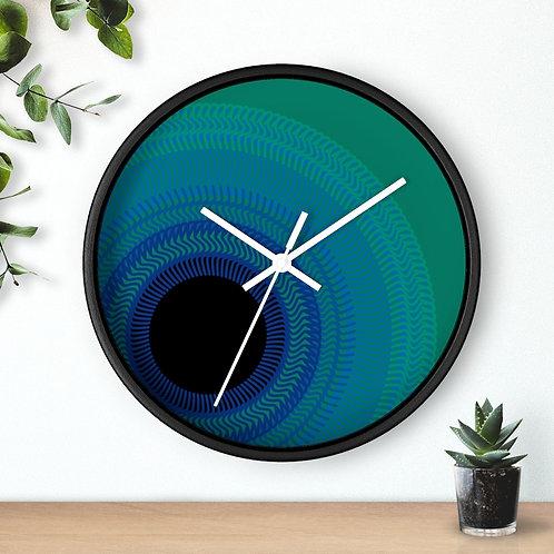 Blue Moon - Wall clock