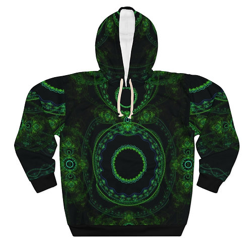 Forest - AOP Unisex Pullover Hoodie