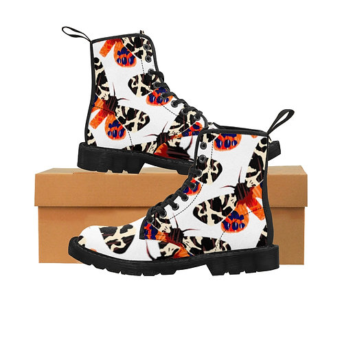 Moth - Women's Canvas Boots