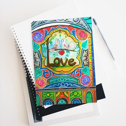 Love - Journal - Ruled Line