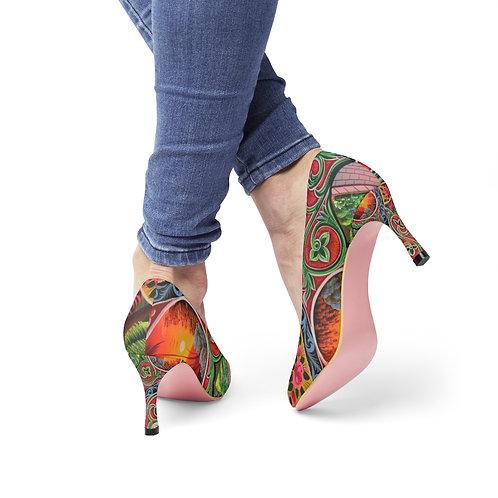 Lovey Doves - Women's High Heels