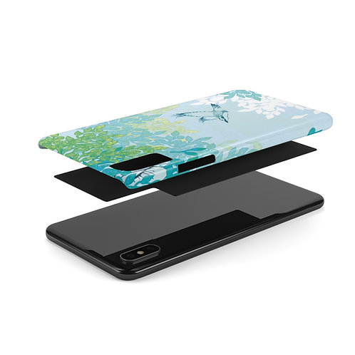 White Night - Case Mate Slim Phone Cases