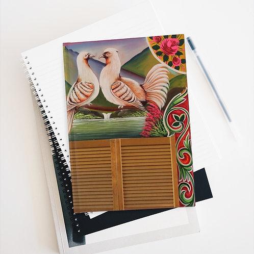 Lovey Doves - Journal - Ruled Line
