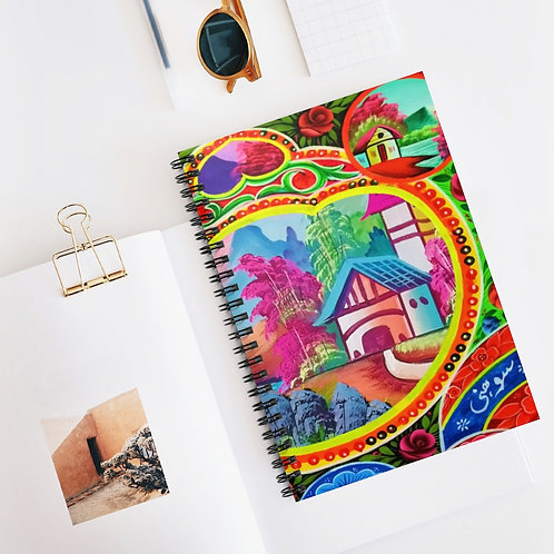 Sweet Home - Spiral Notebook - Ruled Line