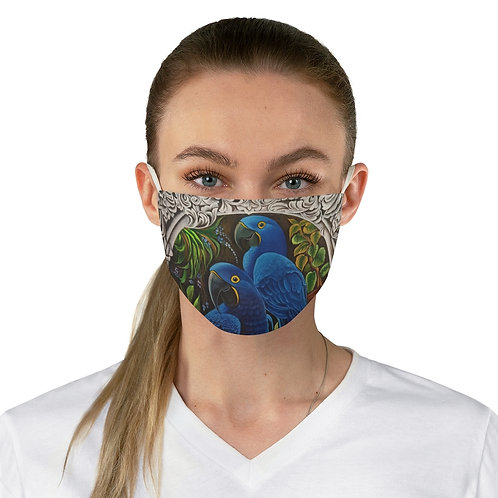 Blue Macaw - Fabric Face Mask