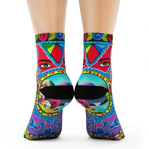 Your Eyes - Crew Socks