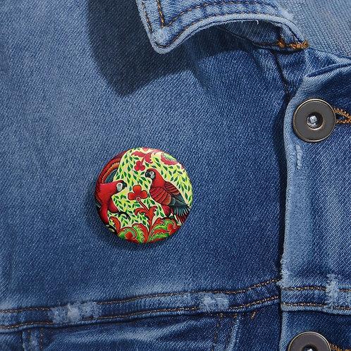 Parrots - Pin Buttons