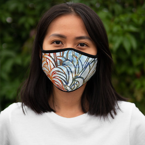 Petals - Fitted Polyester Face Mask