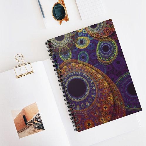 Aurora - Spiral Notebook - Ruled Line