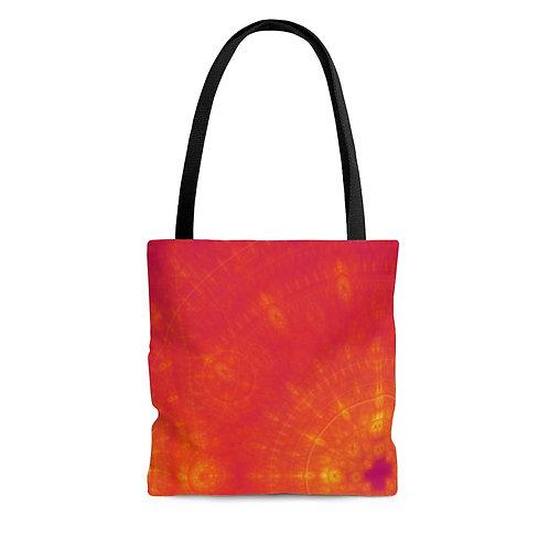 Sun - Fractal Design AOP Tote Bag