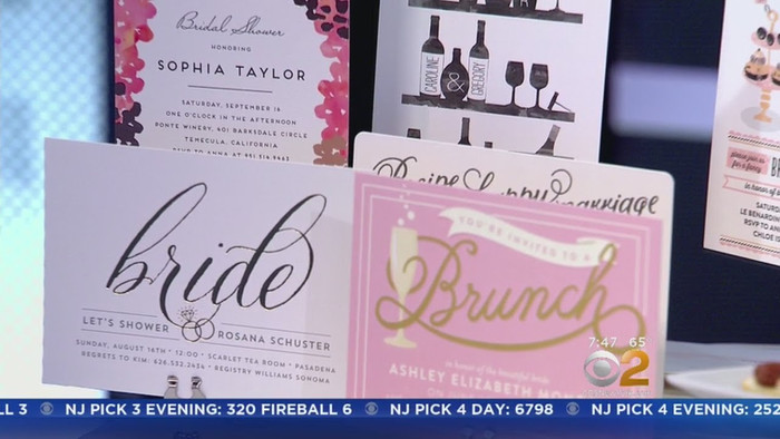 CBS NY - Throwing a Bridal Shower