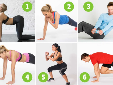 Easy exercises to do during the winter